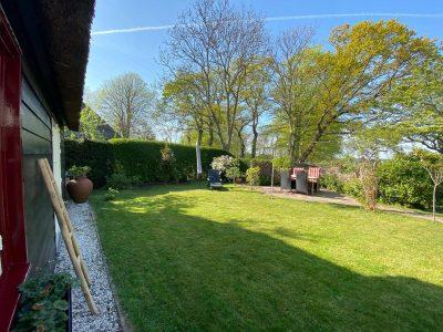 Vakantiehuis Bas overzicht tuin