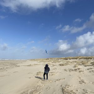 Vakantiehuis Bas omgeving strand vlieger